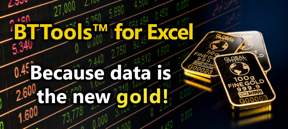 BTTools Data Gold Image